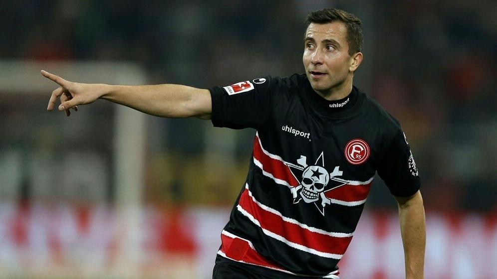 Fällt wegen Muskelfaserrriss aus: Markus Suttner fehlt Fortuna Düsseldorf gegen den BVB
