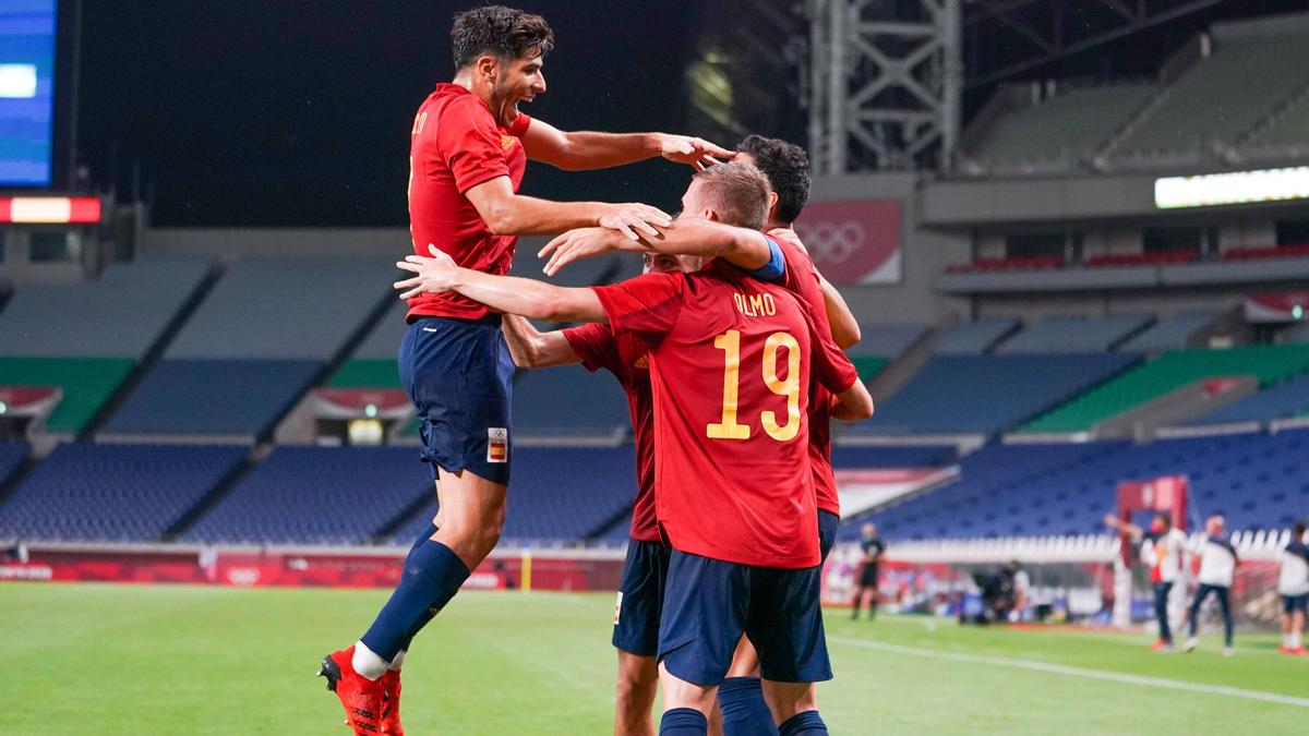 Die spanische Mannschaft zog ins Halbfinale bei Olympia ein