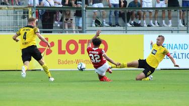 Der BVB II feierte in Freiburg seinen zweiten Sieg im dritten Spiel