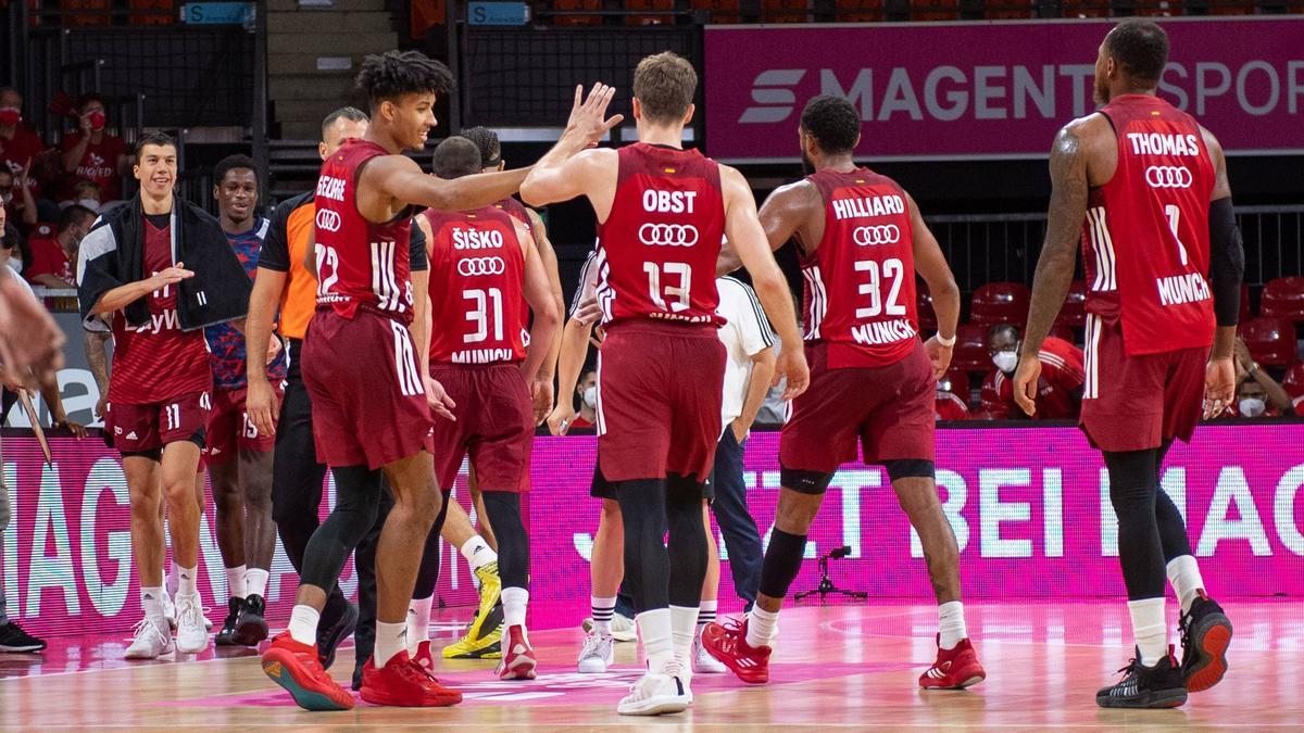 Die Basketballer des FC Bayern beklagen Corona-Fälle