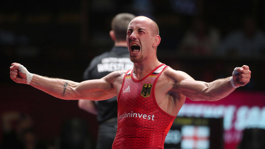 Kröhnte sich in Rom zum Europameister: Ringer Frank Stäbler