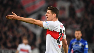 Mario Gomez gefiel der Auftritt von Monaco nicht
