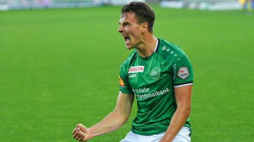 Lukas Görtler blüht beim FC St. Gallen auf