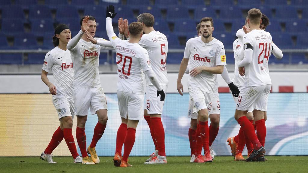 Holstein Kiel jubelte bei Hannover 96