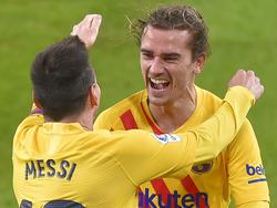 Messi und Griezmann trafen jeweils doppelt für Barcelona