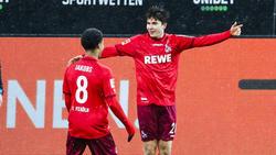 Matchwinner für den 1. FC Köln: Elvis Rexhbecaj (r.)
