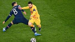 Messi lo intentó pero no tuvo la suerte de cara.