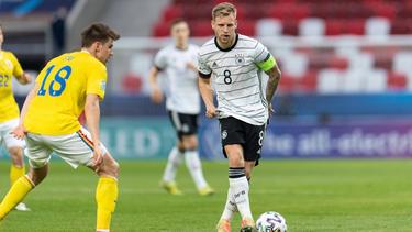 Die DFB-Elf um Arne Maier steht in der Runde der letzten Acht