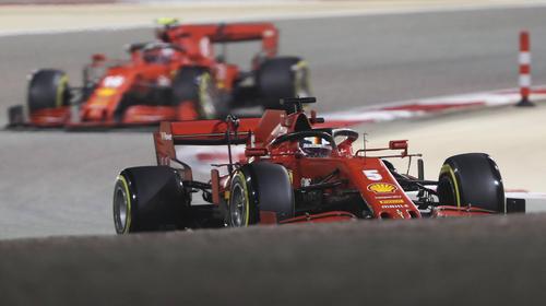 Charles Leclerc landete 2020 in der Regel vor Sebastian Vettel