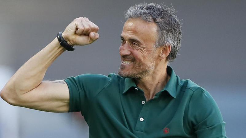 Luis Enrique siegte deutlich mit seinen Spaniern gegen die Slowakei