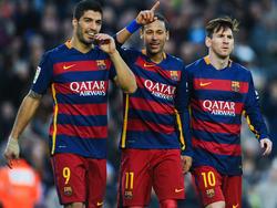Das geniale Barcelona-Trio Suarez, Neymar, Messi