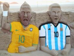 Neymar und Messi treffen am Samstag aufeinander