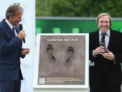 Netzer Teil des DFB Walk Of Fame