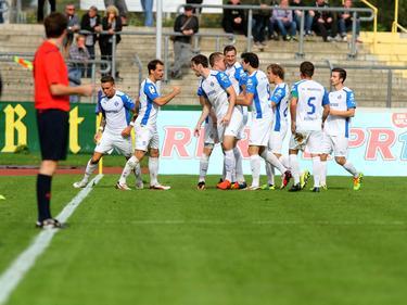 Haben die Spieler des FK Pirmasens künftig keinen Grund mehr zu jubeln?