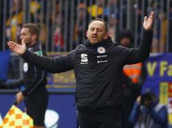 Angezählt: Trainer Torsten Lieberknecht steht bei Eintracht Braunschweig zur Disposition