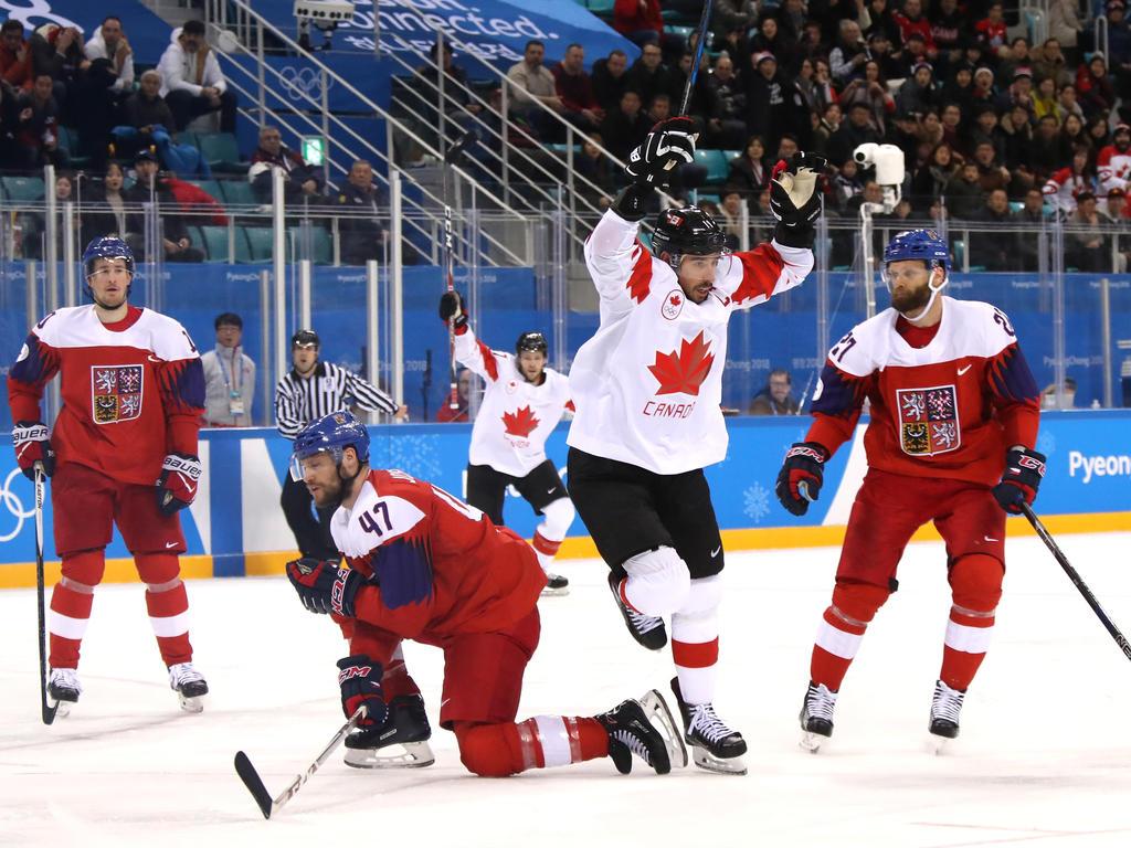 Jubel bei Kanada über Platz 3