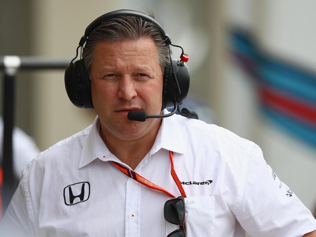McLaren-Boss Zak Brown spielt die angespannte Lage herunter