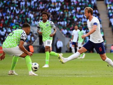 Nigeria plantó cara a Inglaterra en un amistoso previo. (Foto: Getty)