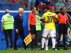 Kolumbien bangt um den Einsatz von James Rodríguez