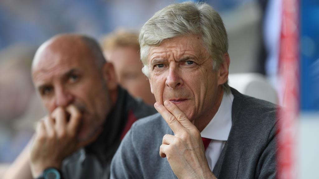 Arsène Wenger hat sich zur Krise des FC Bayern geäußert