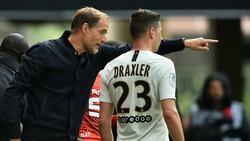 Julian Draxler kommt bei PSG meist nur von der Bank