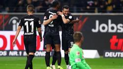 Gegen Eintracht Frankfurt setzte es für die Fortuna eine 1:7-Pleite