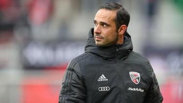 Alexander Nouri wartet weiterhin auf den ersten Sieg mit dem FC Ingolstadt