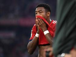David Alaba hinkt bei den Bayern den Erwartungen hinterher. © Getty Images/Bongarts/Matthias Hangst