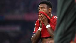 David Alaba ist beim FC Bayern nicht mehr unumstritten