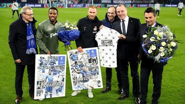 Benedikt Höwedes wurde am Dienstagabend auf Schalke verabschiedet