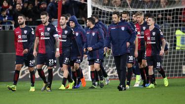 Die Spieler von Cagliari Calcio verpassten ihren Abflug nach Mailand