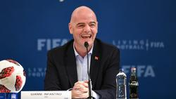 Will die WM revolutionieren: Gianni Infantino