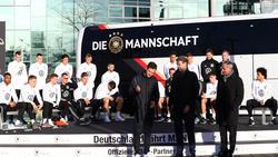 Ein neuer Sponsor stellt dem DFB-Team den Bus