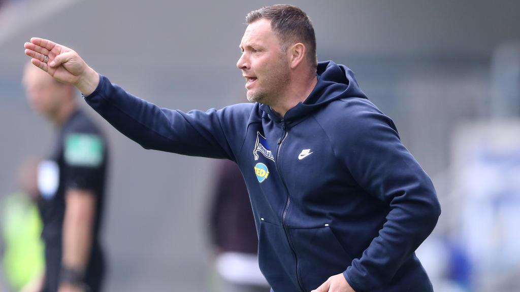 Pál Dárdai musste mit Hertha BSC die nächste Niederlage in Kauf nehmen