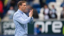 Julian Nagelsmann steht vor seinem letzten Spiel als Trainer der TSG Hoffenheim