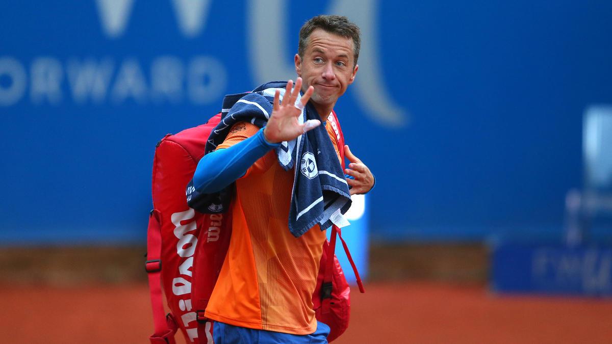 Philipp Kohlschreiber musste sich dem topgesetzten Novak Djokovic geschlagen geben