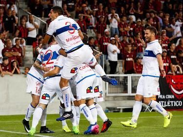 La Universidad Católica derrotó por la mínima al Flamengo. (Foto: Getty)