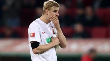Martin Hinteregger steht zur Zeit noch beim FC Augsburg unter Vertrag