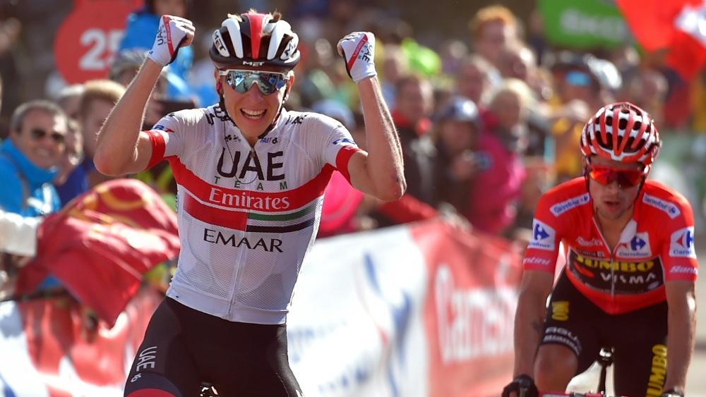 Tadej Pogacar gewann die 13. Etappe der Vuelta