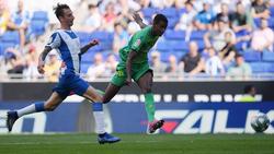 Alexander Isak marcó su primer gol en LaLiga.