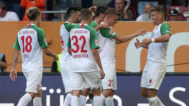 Zwei Tage nach dem ersten Saisonsieg gab's erneut gute Nachrichten für den FC Augsburg
