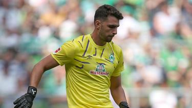 Stefanos Kapino überragte im Tor von Werder Bremen