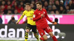 Leon Goretzka gewann mit den Bayern deutlich gegen den BVB