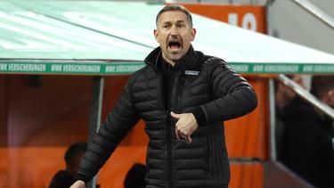 Achim Beierlorzer verlor zum ersten Mal als Mainz-Trainer