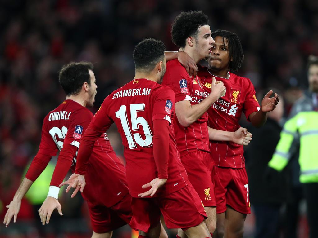 Liverpool jubelt über den Einzug in die nächste Runde