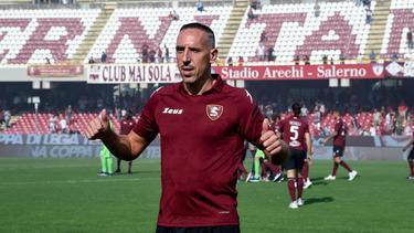 Franck Ribéry ist zu US Salernitana gewechselt