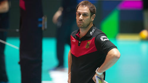 Bundestrainer Felix Koslowski scheiterte mit den Volleyball-Frauen in Quali