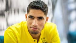 Achraf Hakimi steht noch bis zum Sommer beim BVB unter Vertrag