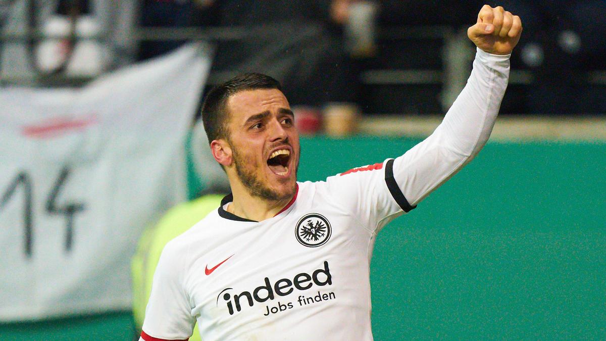 Filip Kostic traf gegen RB Leipzig doppelt