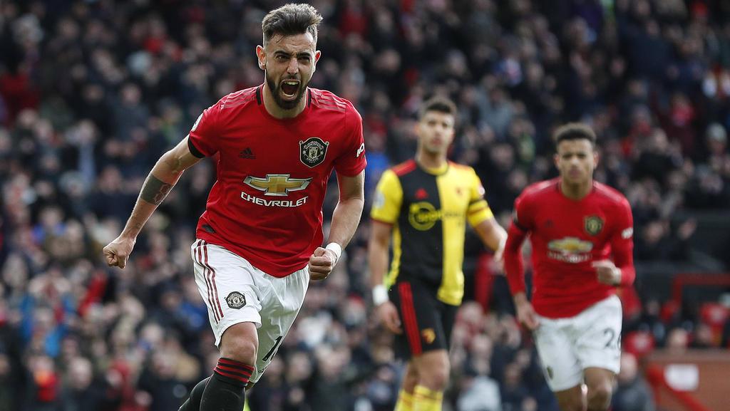 Manchester United feierte einen deutlichen Sieg gegen den FC Watford